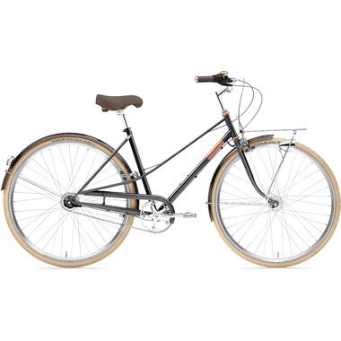 Vélo de Ville CREME CAFERACER DOPPIO TRAPEZ Noir 2020
